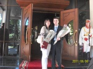 Dan Verejanu, Meritul Civic, Marian Lupu, Moldova, Anul Voluntariatului, Renata Verejanu